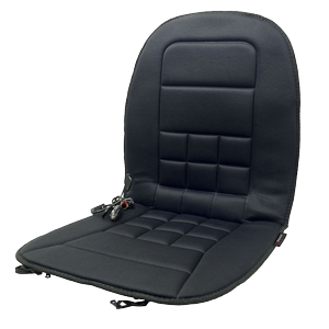 Wagan IN9738 Black 12V Heated Seat Cushion (Lastest Version)