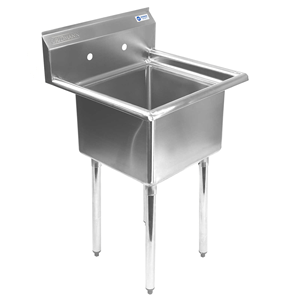 Gridmann-1-Compartment-NSF-Stainless-Steel-Commercial-Kitchen-Prep-&-Utility-Sink