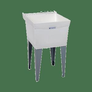 Mustee-19F-Utilatub-Laundry-Tub-Floor-Mount-24-Inch-x-20-Inch-White