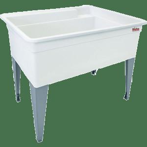 Mustee-28F-Bigtub-Utilatub-Laundry-Tub-Floor-Mount-24-Inch-x-40-Inch-White
