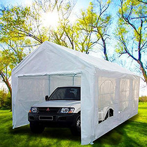 Peaktop-Heavy-Duty-Portable-Carport-Garage-Car-Shelter