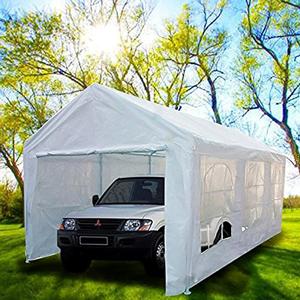 Peaktop-Heavy-Duty-Portable-Carport-Garage-Car-Shelter
