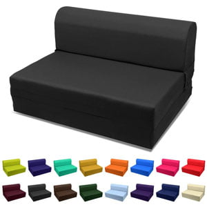 Sleeper-Chair-Folding-Foam-Bed-Choose-Color-Sized-Single