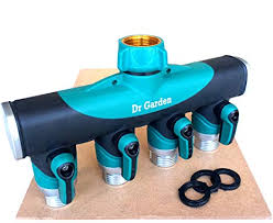 User Friendly 4 Way Garden Hose Splitter