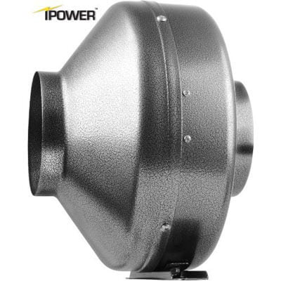 "I power Glfanxine 4"" 190 CFM inline duct ventilation fan"