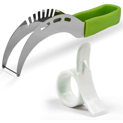 All Prime Watermelon Slicer Large Green