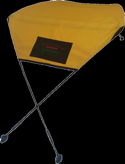 Adventure Canopies Kayak Sun Shade - 10 Foot & Larger Kayaks