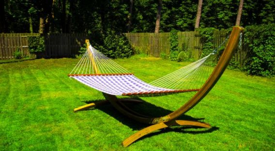 portable hammock stand.