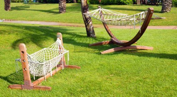smaller hammock stand
