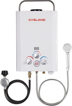 GASLAND Outdoors BE158 1.58GPM 6L Outdoor Portable Gas Water Heater
