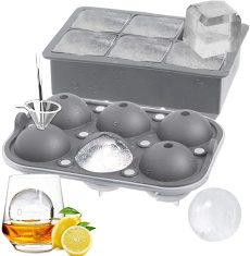 ROTTAY Ice Cube Trays Sphere Ice Ball Maker