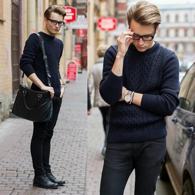 Sapato preto masculino combina com o que HQSC 5 1