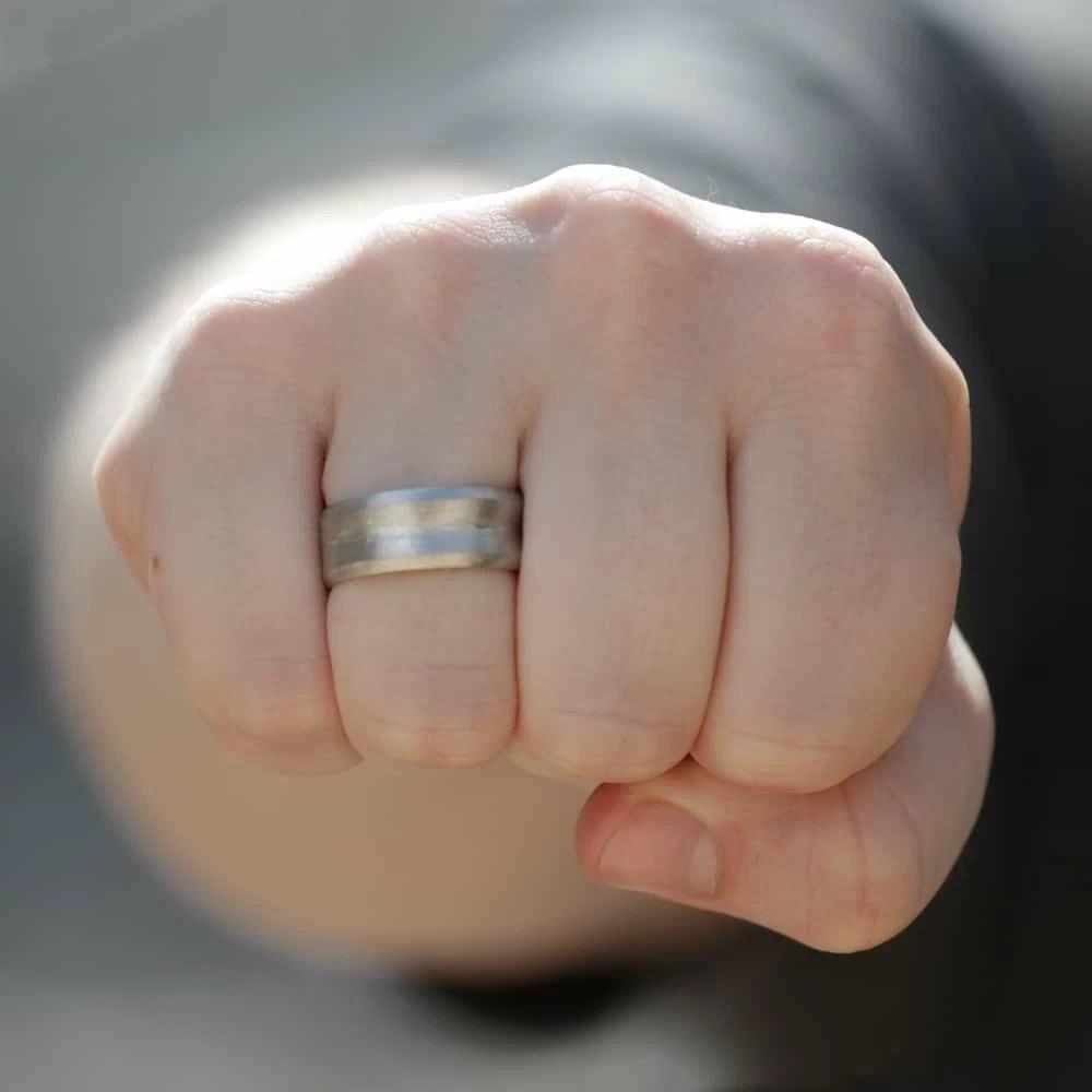 6 aneis masculinos homens que se cuidam