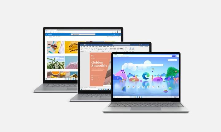 Surface Laptop Übersicht