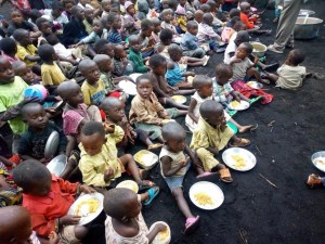 Feeding Program in Congo