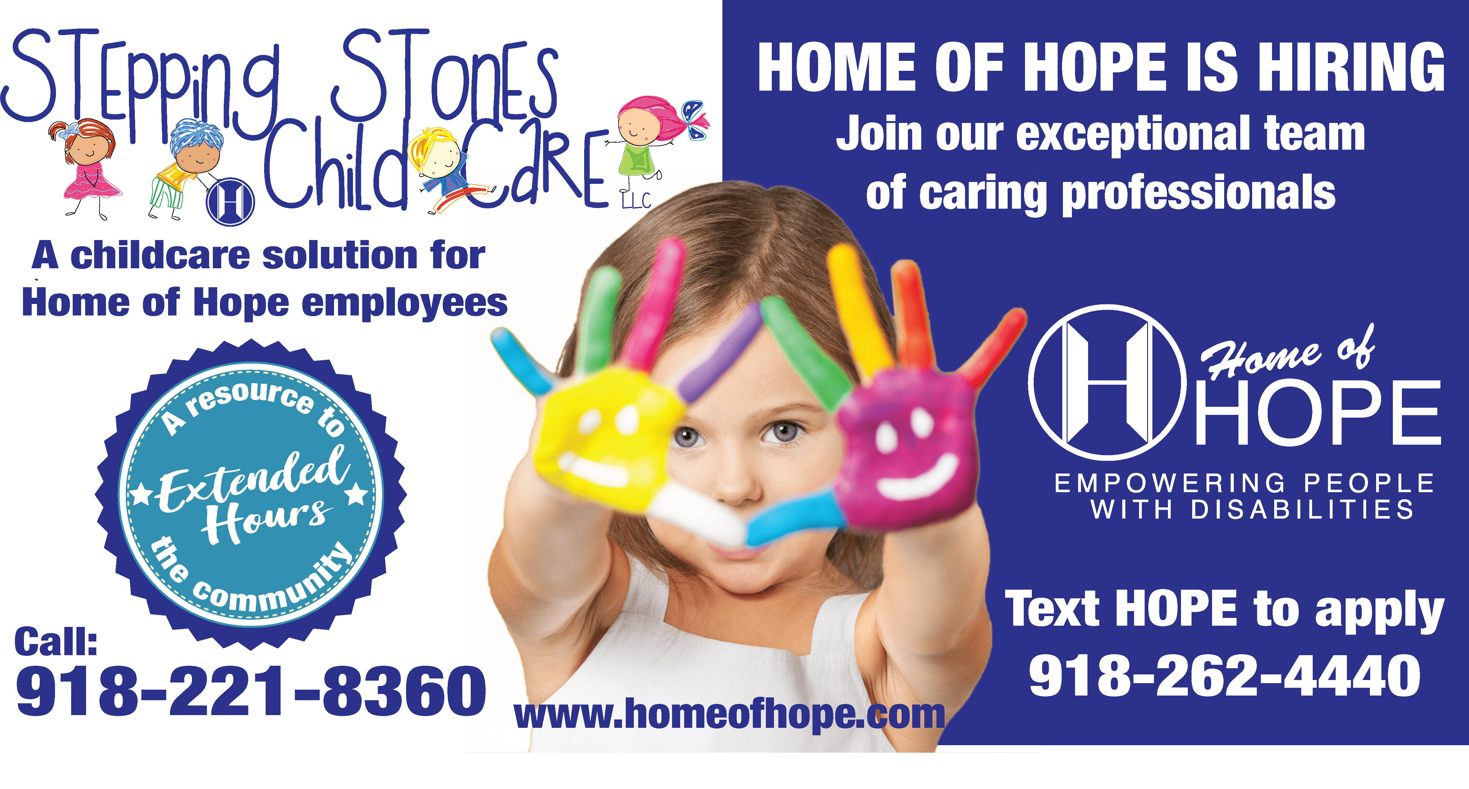 Home of Hope Stepping Stones Childcare
