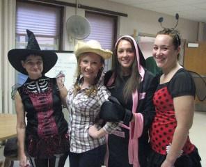 Diane, Kaela, Courtney and Stephanie