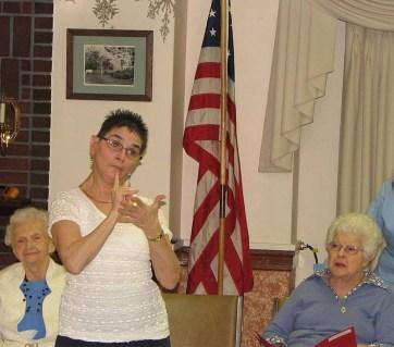 Silent Night in sign language