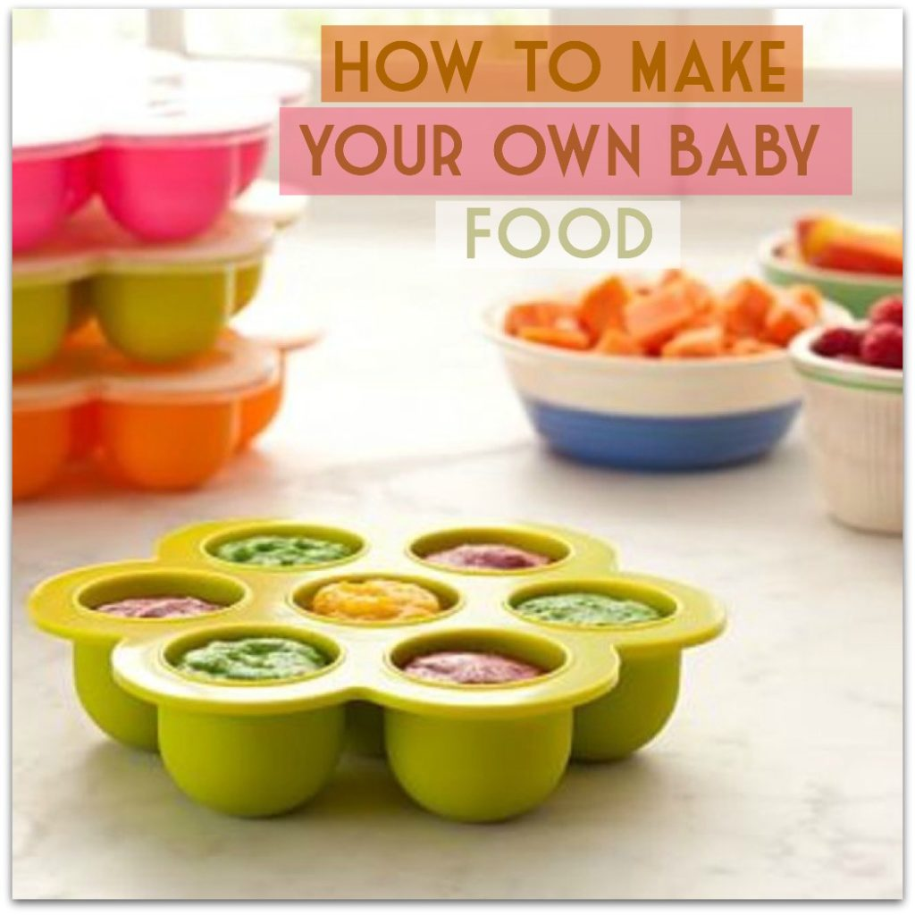 How To Make Your Own Baby Food Home Of Malones