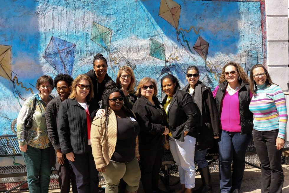Home of the Sparrow mothers coming together for brunch and art in Philadelphia