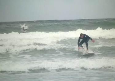Surfen in Big Bay