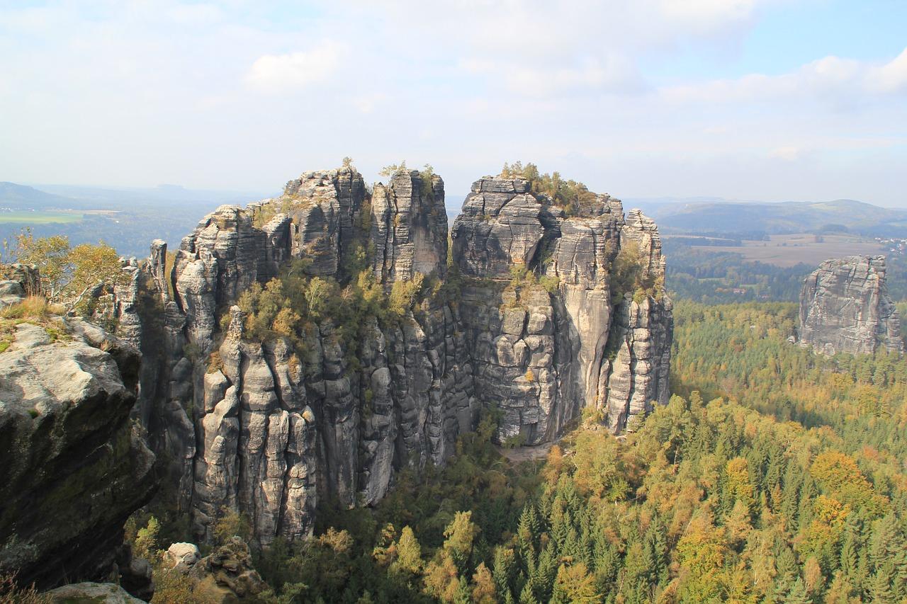 Klettersteig Sächsische Schweiz : Häntzschelstiege klettersteig tour part pov sächsische schweiz k