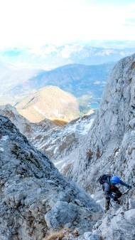 Klettersteig zum Mangart