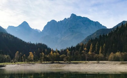 Kranjska Gora im Morgenlicht
