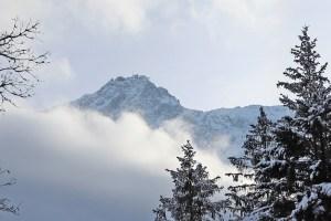 Gipfel der Zugspitze vom Eibsee