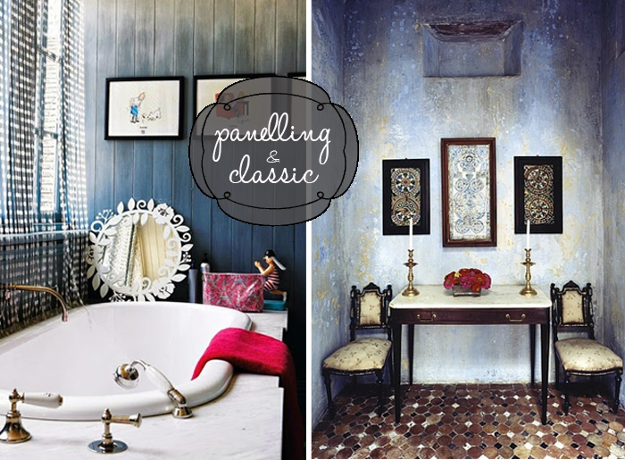 panelling and classic