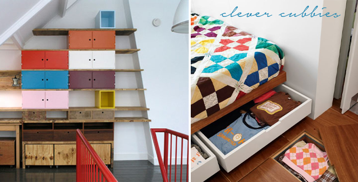 Creative Small Spaces - Clever Cubbies