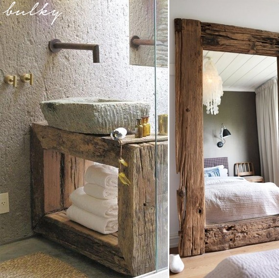 home decor with distressed wood homeology