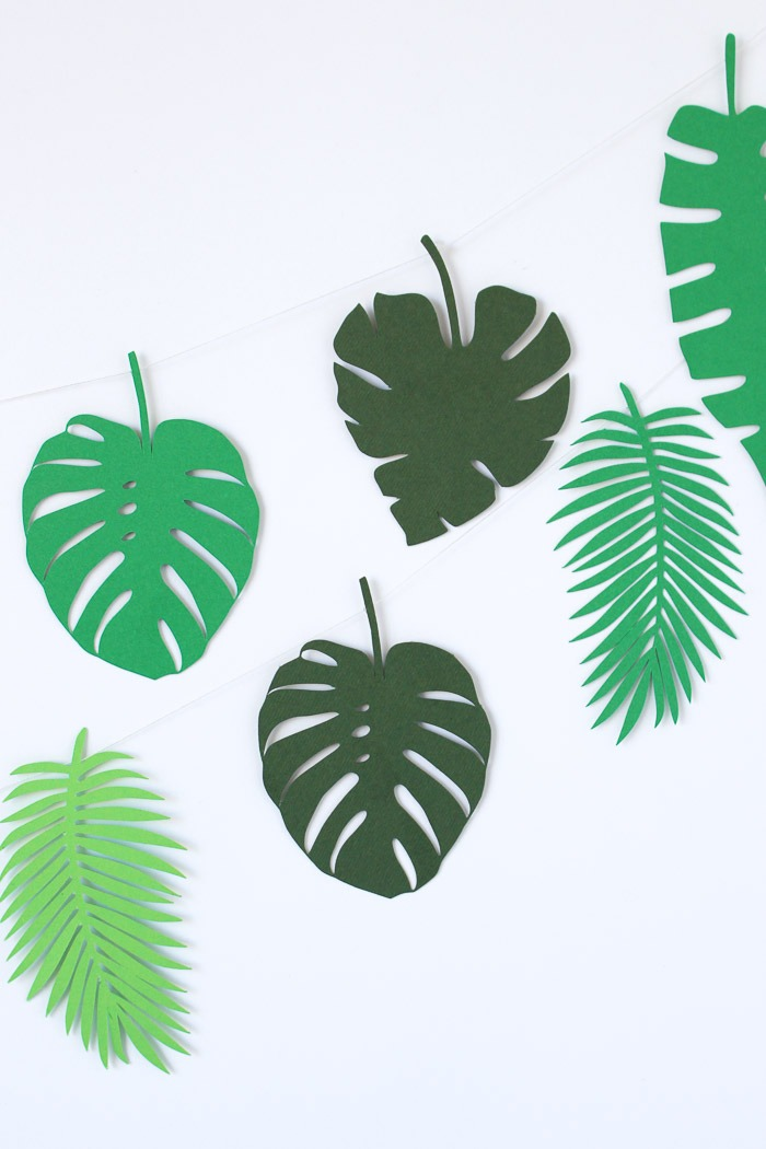 Botanical Paper Leaves Diy And Free Download Homeology