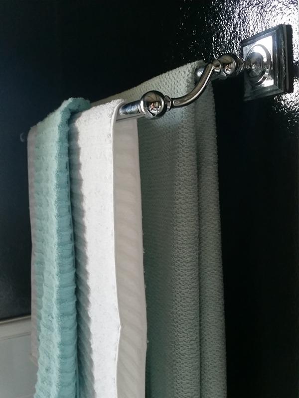 budget bathroom make-over