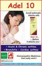 adel 10 deasth drops for asthma, bronchitis, cardiac asthma