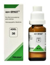 ADEL 38 apo-SPAST homeopathic medicine for fits (convulsions) and cramps