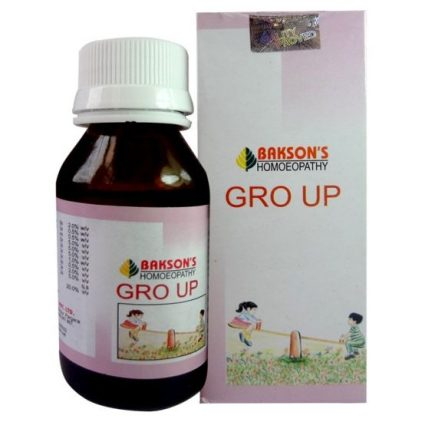 Bakson Gro Up Drops - Growth promoter. For colic, teething problems, worms etc
