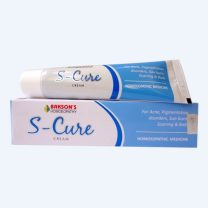 Bakson S-CURE Cream for Acne, Scars, Pigmentation disorders, sunburn, Boils