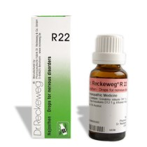 Dr. Reckeweg R22 Drops for nervous disorders (anginous condition of the heart), Cardiac arrythmia