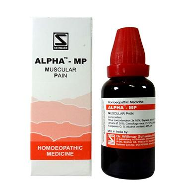 Schwabe Alpha-Mp Tablets for muscular pain
