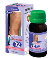 Blooume 32 drops for VARICOSE VEINS