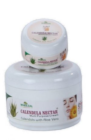 Wheezal Calendula Nectar multi purpose skin cream with Aloevera for acne, blotches, pimples