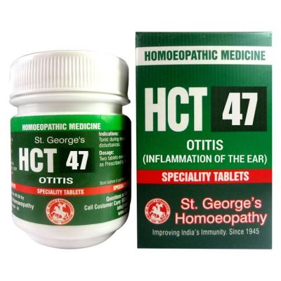 St.George HCT No 47-Otitis for Inflammation of the ear