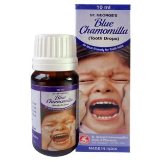 St George Blue Chamomilla Tooth drops