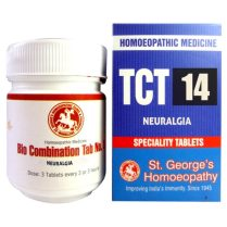 St George TCT 14 Homeopathic Tissue Complex Tablets for Neuralgia