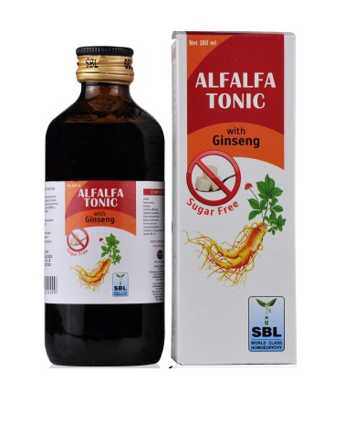Best Sugar Free Alfalfa Tonic with Ginseng (SBL)