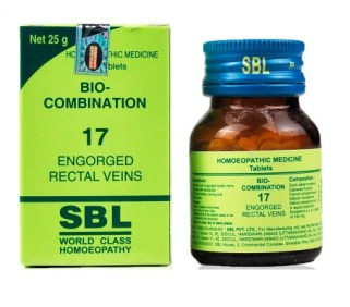 Homeopathy Cell Salt for piles-SBL Bio Combination No.17 Tablets