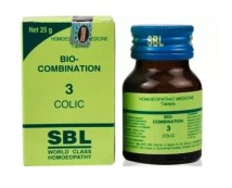 SBL Biocombination No.3 Tablets for Colic, 25gm