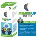 Dr.Raj Memoriup Homeopathy Brain tonic with Brahmi, ashwagandha