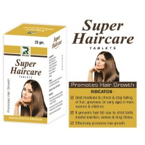 Dr.Raj Super Haircare Tablets, Homeopathy Hair Growth formula